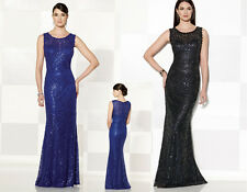 Mermaid Style Bridesmaid Dress Party Cocktail Evening Formal Prom Dresses 6-16