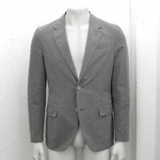NEW Mens Lanvin Grey Cotton Two Button Slim Fit Blazer Jacket GENUINE RRP: £870
