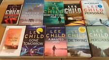 10 JACK REACHER Crime Thriller books LEE CHILD One Shot PERSONAL A Wanted Man