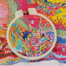 White Needlework Embroidery Cross Stitch Hoops Sizes 9cm-28cm