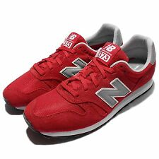 New Balance ML373HR D Red Grey Suede Mens Retro Running Shoes Sneakers ML373HRD