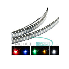 1206 SMD SMT Super Bright LED Red Green Blue Yellow White 5 Colours Light LED