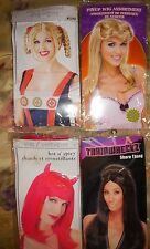 PMG Ladies Halloween Costume Wig Witch Pin Up Milkmaid 50's Flip Shore Thang