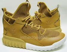 Adidas Tubular X Mesa Wheat Brown Gum White Mens Trainers Boots S75513