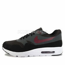 Nike Air Max 1 Ultra Essential [819476-002] NSW Casual Black/Night Maroon-Grey