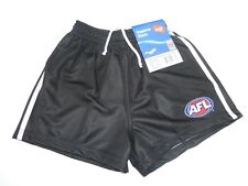 AFL COLLINGWOOD MAGPIES ADULT FOOTY SHORTS - BRAND NEW