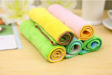 Hot Absorbent cloth Dish Towel Kitchen Towel Magic Double Dish Cloth Household