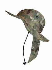 BRITISH ARMY MTP CAMO BUSH HAT - VARIOUS SIZES AVAILABLE - GRADE 1 CONDITION