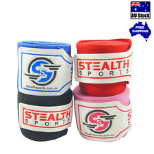 Stealth Gear Boxing Hand Wraps 4m MMA INNER Gloves Fist Protector BANDAGE Mitts