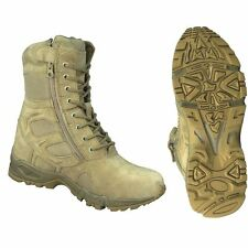 Rothco 5357 Forced Entry Desert Tan Tactical Combat Boots w/ Zipper SIZE 5 TO 13