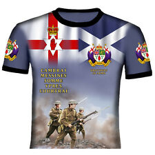 36TH ULSTER DIVISION WORLD WAR ONE BATTLE OF THE SOMME,CAMBRAI  T SHIRTS POPPY