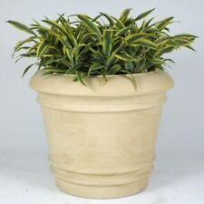 Allied Moulded Products Cezar Round Planter. Delivery is Free