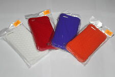 New iPhone 5 Honeycomb Texture Silicone Rear Cover Aussie Seller Fast Free Post