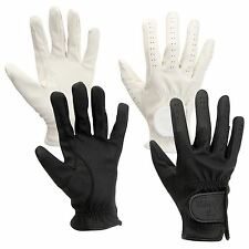Horka Equestrian Serino Lightweight Breathable Leather Grip Horse Riding Glove