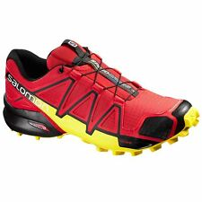 Salomon Speedcross Hiking 4 Quick Lace Red Mens Trainers