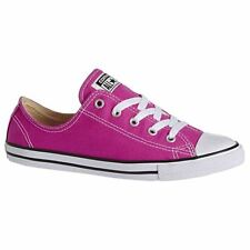 Converse Chuck Taylor All Star Dainty Ox Plastic Pink Womens Trainers