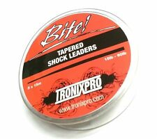 Tronixpro Tapered Shock Leaders - 5 Leaders x 15m, 15lb - 50lbs & 15lb - 60lb