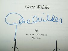 My French Whore by Gene Wilder  Signed Autograph