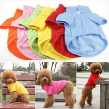 Pet Puppy Summer POLO Shirt Small Dog Cat Pet Clothes Costume Apparel T-Shirt GB
