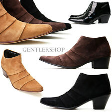 Men's Fashion Shoes Handmade Suede Chukka Boots 4 Colors 4796, GENTLERSHOP
