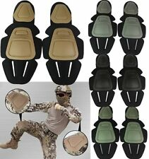 Military Airsoft Knee & Elbow Protective Foam Pad For FROG Combat Uniform Suit