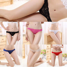 Sexy G String Panties Briefs Lace Lingerie Women Underwear Knickers Thongs New
