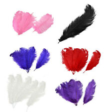 Household Wedding Party Ornament Artificial Ostrich Feather Plume 30-35cm 5pcs