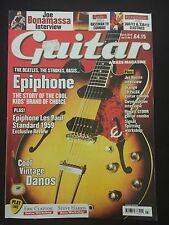 Guitar And Bass Magazine March 2010 Epiphone Cool Vintage Danelectros