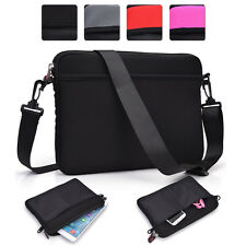 Universal 8 8.9 9 9.7 10 inch Tablet Sleeve Case Cover & Shoulder Bag