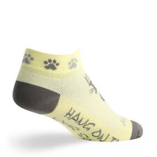 """SOCKGUY 1"""" Cuff Perfomance Running/Cycling Women's Socks Made in USA"""