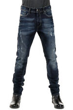 DIESEL New Men stretch Denim blue TEPPHAR slim carrot Jeans Pants NWT
