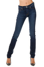 HUDSON New Woman Blue Stretch Denim Skinny SHINE Pants Jeans NWT