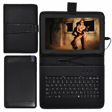 """XGODY 9"""" Quad Core Android 4.4 Tablet PC Wifi Bluetooth Bundled Keyboard Case"""