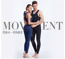 2016 Lovers One-Piece Wet Suit Anti UV Neoprene Scuba Diving Swimming Suit Hot
