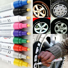 DIY Waterproof Permanent Paint Marker Pens Car Tyre Tire Tread Rubber Metal