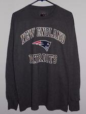 NWT NEW ENGLAND PATRIOTS MENS XL CAMO HEART AND SOUL CHARCOAL LONG SLEEVE SHIRT