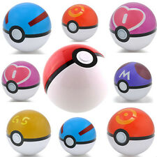 7cm Pokemon Pokeball Pop-up Cartoon Plastic BALL Pikachu ball Toy Kids Gift CHI