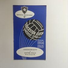 1960's & 1970's  Leicester City  Football Programmes - Various Fixtures