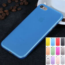 New 0.3mm Ultra Thin Matte Clear Hard PC Back Case Cover Skin For iPhone 7/Plus