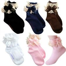New Baby Girls Lace Ruffle Frilly Ankle Socks Sweet Princess Short Socks