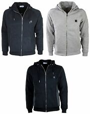 MENS NEW FORAY HOODIE  LATEST IN BLACK GREY MARL COLOURS S TO XXL RRP £39.99