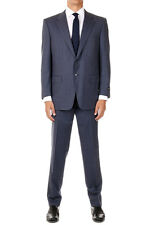 CORNELIANI New Men Blue Pinstripe Wool Single Breasted Blazer Pants Suit Italy