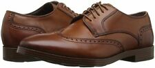Men's Shoes Cole Haan Jay Grand Wingtip Oxford Leather C23775 British Tan *New*