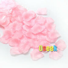 New Pink Silk Rose Petals Confetti Artificial Flower Wedding Party Decoration