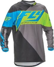 NEW FLY Racing F16 Blue Yellow Jersey motocross atv off road Youth Yamaha