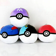 Rarely Pokemon Soft Plush Toy Stuffed Animal Doll Poke Ball Throw Pillow Cushion