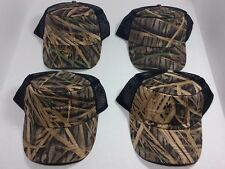 Mossy Oak Camouflage Camo Mesh Snapback Hat Cap One Size 4 Different Styles