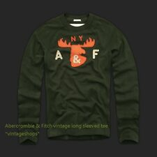 Abercrombie & Fitch vintage long sleeved T-shirts NWT authentic items
