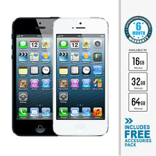 NEW Apple iPhone 5 4G 16GB 32GB 64GB (A1429) 12 Month Apple Warranty *Unlocked