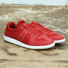NEW Mens Swims Red & White Luca Mesh Low Trainers Sneakers GENUINE RRP £100 BNIB